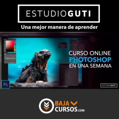 Curso Photoshop en una semana – Estudio Guti