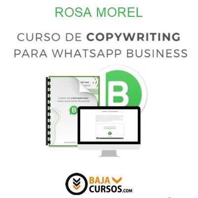 Copywriting para Whatsapp Business – Rosa Morel